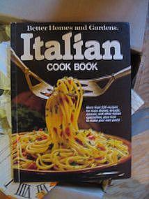 Better Homes and Gardens Italian Cookbook