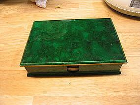 Otagiri Malachite Box