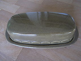 Homer Laughlin Granada Sheffield Butter Dish