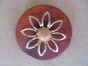 Vintage Wooden Pin