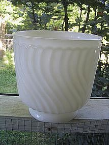 Napco Milk Glass Vase