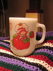 Anchor Hocking Strawberry Shortcake Mug