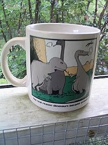 Far Side Smoker's Mug