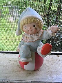 Homco Clown Baby Figurine