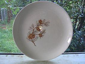 Harmony Mocha Pine Plate