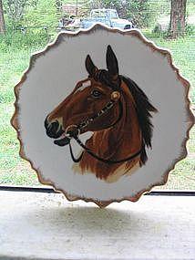 Horse Head Plate