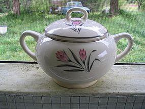 W S George Crocus Sugar Bowl