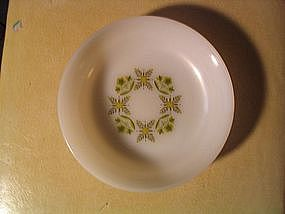 Anchor Hocking Meadow Green Bowl