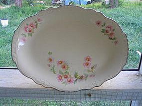 Homer Laughlin  Moss Rose Platter