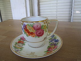 Rosenthal Dresden Demitasse Cup and Saucer