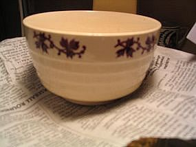USA Maroon Ivy Bowl