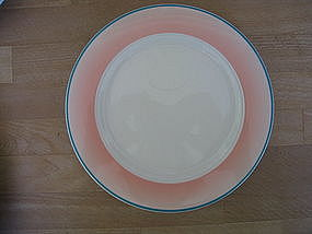 Homer Laughlin Santa Fe Plate