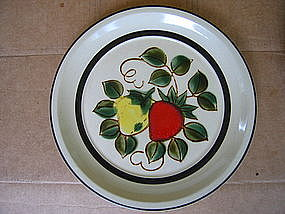 Sears Strawberries Plate
