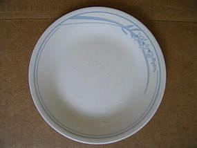 Corelle Blue Lily Bread Plate