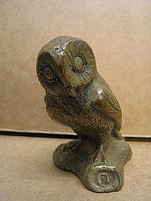 Brass Barn Owl
