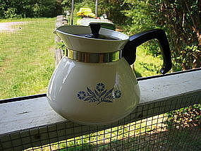 Corning Cornflower Teapot