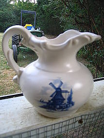 McCoy Windmill Pitcher