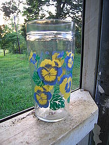 Anchor Hocking Pansy Glass