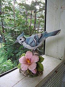 Andrea Blue Jay Figurine