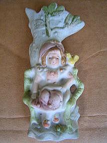 Occupied Japan Figural Vase