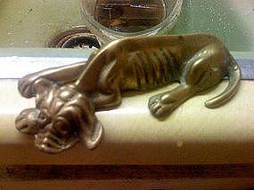 Brass Hound Dog