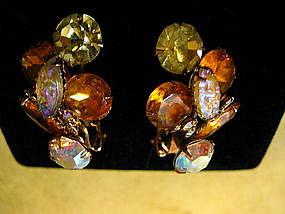 Topaz Aurora Borealis Earrings