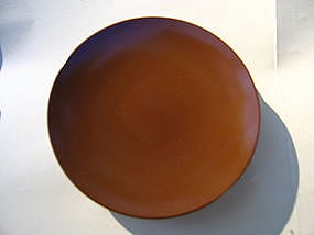 Brown Melanine Plates