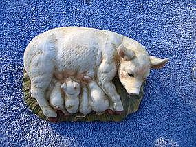Pig Family Figurine