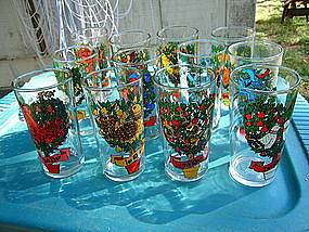 12 Days of Christmas Glass
