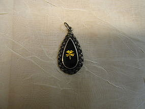 Sterling Four Leaf Clover Pendant