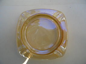 Vintage Iridized Ashtray