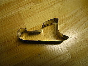 Tin Sled Cookie Cutter