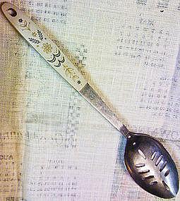 Flint Slotted Spoon