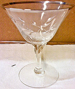 Fostoria Bridal Belle Champagne Glass
