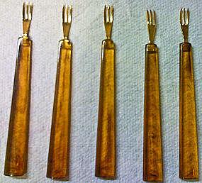 Vintage Hors d'oeuvre Forks