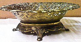 Italian Brass Bowl