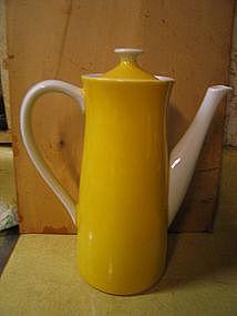 Yellow Coffee Pot