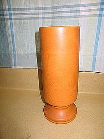 McCoy Orange Vase