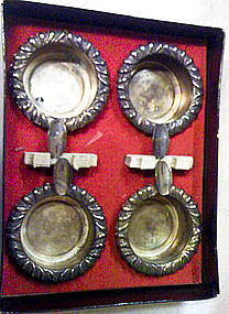 Vintage Silver Ashtrays