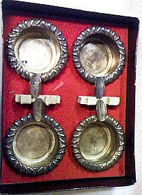 Vintage Silver Ashtrays