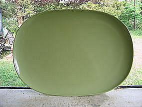 Green Melmac Platter