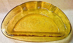 Amber Ashtray