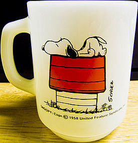 Snoopy Allergic to Morning Mug