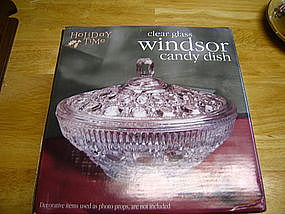 Indiana Glass Windsor Candy Dish