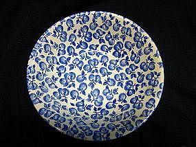 English Ironstone Blue Fruit Bowl