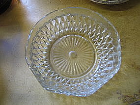 Indiana Glass Diamond Point Bowl
