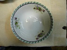 Lusterware Violets Bowl