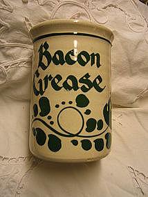 New Geneva Bacon Grease Jar