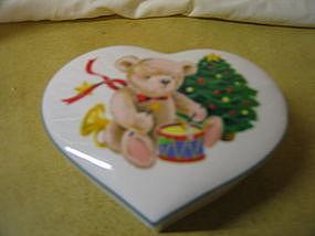 Christopher Stuart Little Drummer Bear Box