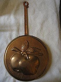 Copper Apple Mold